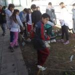 Los alumnos de E.D.I. Huerta en pleno trabajo.
